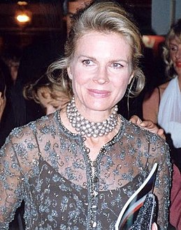 Bergen at the 45th Emmy Awards in 1993