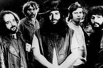 Canned Heat - 1970 photo of the classic Canned Heat lineup.