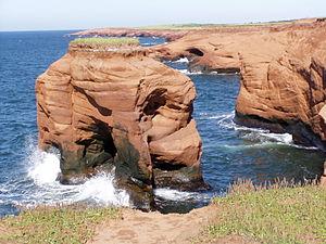 Les Îles-de-la-Madeleine, Quebec - Image: Cap au Trou 01