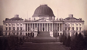United States Capitol Complex - Daguerreotype of the Capitol, c. 1846