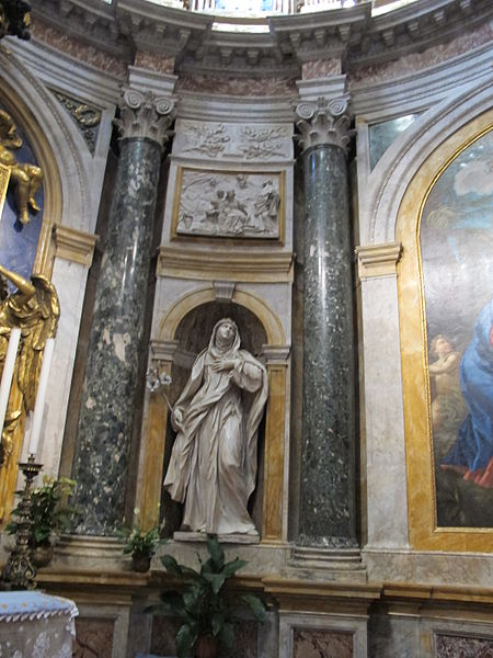 File:Cappella chigi (siena), Ercole Ferrata, santa caterina da siena 01.JPG
