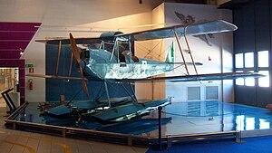 Caproni Ca.100 - Caproni Ca.100 Idro floatplane variant in the Museo dell'Aeronautica Gianni Caproni, Trento.