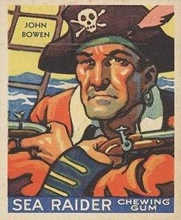 John Bowen (pirate) Bermudian pirate