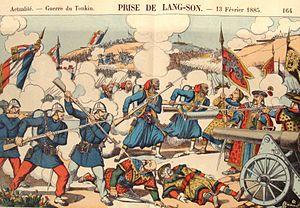 Lạng Sơn Province - Capture of Lạng Sơn