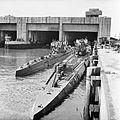Captured German U-boats outside their pen at Trondheim in Norway, 19 May 1945. BU6382.jpg