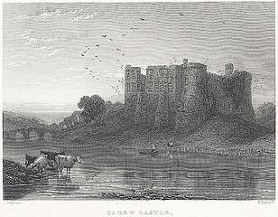 Carew Castle, near Pembroke