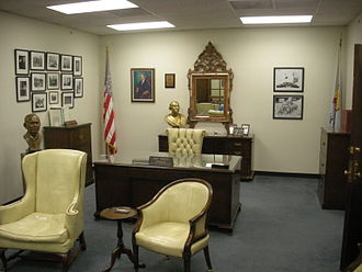Carl Albert Center - Replica of Carl Albert's office at the Carl Albert Center