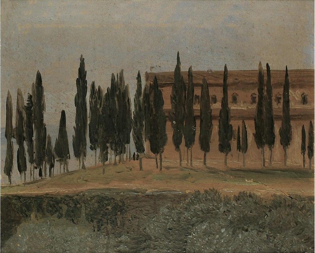 Carl Gustav Carus - Kloster Monte Oliveto bei Florenz