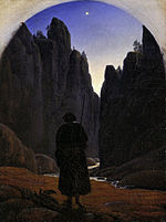 Carl Gustav Carus - Pilger im Felsental - Google Art Project.jpg