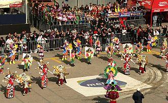 Maltese Carnival - Image: Carnival in Valletta Show