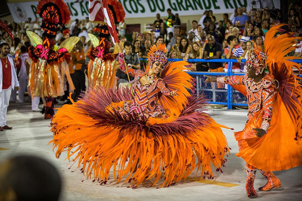 Carnival in Rio de Janeiro, Brazil. top 10 world's largest festivals