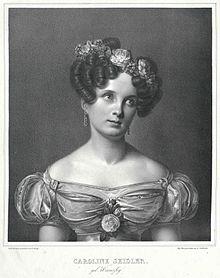 Caroline Seidler, Stich von Gustav Lüderitz nach Eduard Daege (Quelle: Wikimedia)
