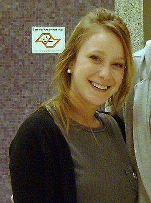 Caroline Abras - Carol Abras on november of 2010.
