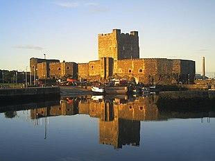 "<a href=""http://search.lycos.com/web/?_z=0&q=%22Carrickfergus%20Castle%22"">Carrickfergus Castle</a> at sunset"