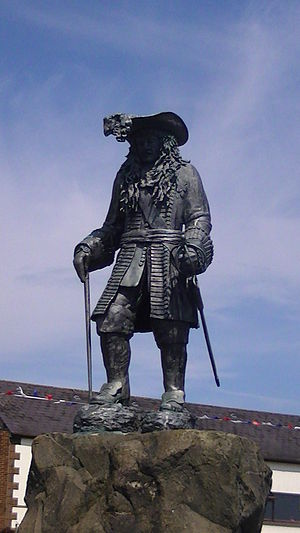 Siege of Carrickfergus (1689) - A statue of William III commemorating his landing at Carrickfergus in 1690.