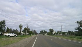 Oxley Highway in Carroll