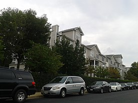 Cars and condos, Fair Lakes CDP, Fairfax County, VA.jpg