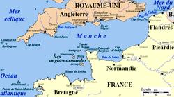 Carte de la mer «Manche».