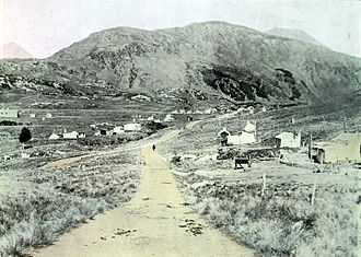 Cass, New Zealand - Cass in 1911, when it was the terminus for the Midland Line
