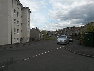 Fernhill, South Lanarkshire Human settlement in Scotland