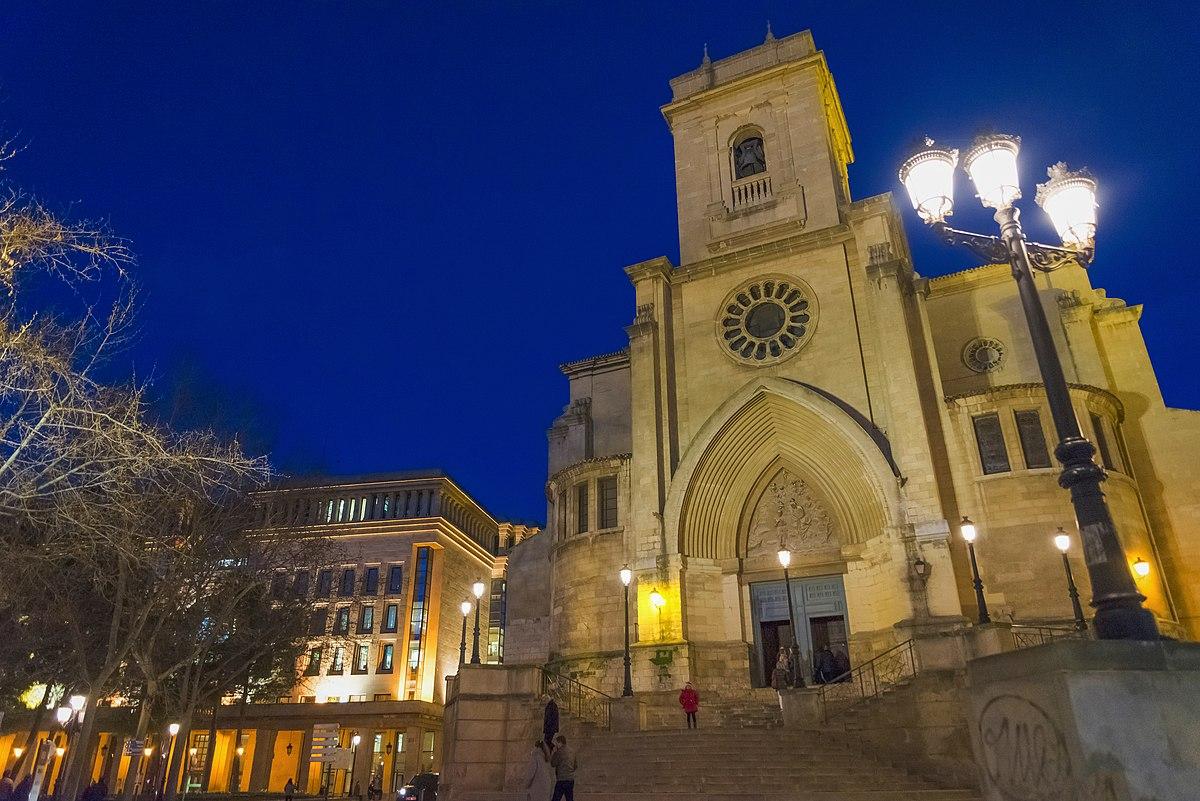 Plaza de la catedral albacete wikipedia la enciclopedia libre - Casas de citas en albacete ...