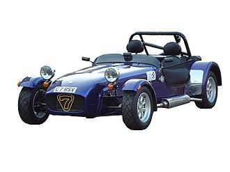 Caterham 7 - Image: Caterham 7 Roadsport SV