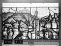 Cathédrale - Vitrail, Chapelle Saint-Joseph, lancette gauche, Légende de saint Romain, deuxième panneau, en haut - Rouen - Médiathèque de l'architecture et du patrimoine - APMH00031266.jpg