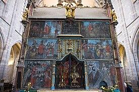 Cathédrale saint bertrand de comminges-tombeau de saint bertrand