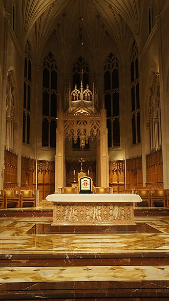 Cathedral Basilica of Christ the King - Interior