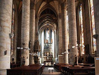 Cathedral of St. Bartholomew (Plzeň) - Interior