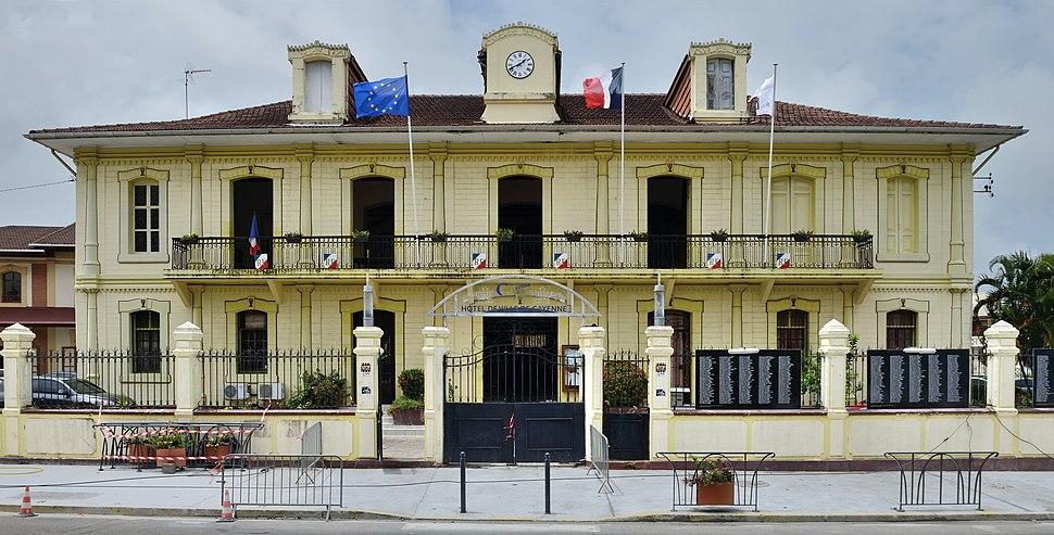 Cayenne hôtel de ville 2013