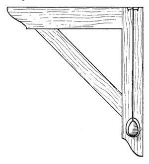 Plumb bob - A plumb square from the book Cassells' Carpentry and Joinery