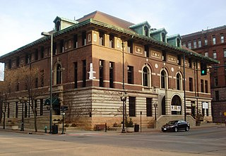Cedar Rapids Post Office and Public Building building in Iowa, United States