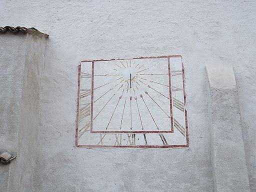 Cembra - Chiesa di San Pietro - Meridiana 1