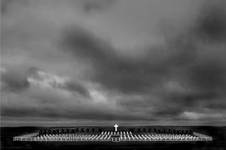 Last year's eighth prize winner - Argentine military cemetary at Port Darwin, Falklands Islands by Tomas Terroba