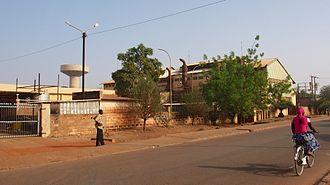 Société Nationale d'électricité du Burkina Faso - Image: Centrale thermique SONABEL1