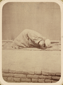 Ceremonies Performed by Muslims during Prayer. Prostration WDL10797.png