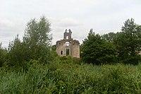 Château-la-Vallière, Ruines du château de Vaujours, vue générale.jpg
