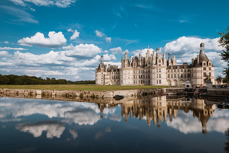 6 місце. Замок Шамбор, департамент Луар-і-Шер, Франція. Автор фото — Arnaud Scherer, ліцензія CC-BY-SA-4.0