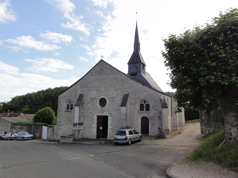 Chailles (Loir-et-Cher) église Saint-Martin