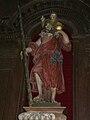 Champagnac-de-Belair église retable St Christophe.JPG