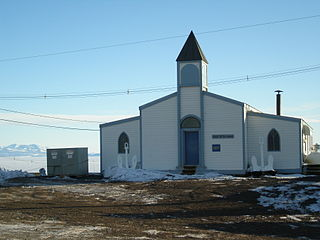 Chapel of the Snows American church at McMurdo Station