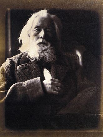 Charles Hay Cameron - An 1864 photo by Julia Margaret Cameron of her husband, Charles Hay Cameron