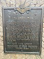 Chase Mill Millstone Plaque in 2021.jpg