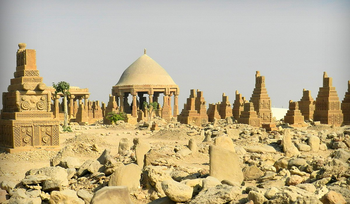 Image result for Chowkandi Graveyard