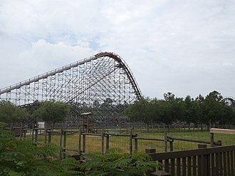 Cheetah (Wild Adventures) - Cheetah (roller coaster)