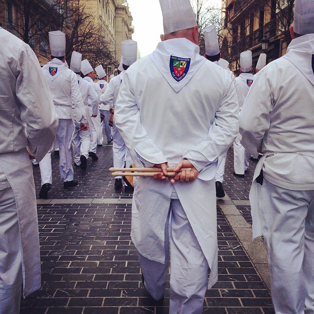 Chefs tamborrada