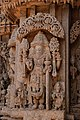 Chennakesava Temple, Somanathapura - Lord Bramha's Sculpture.jpg