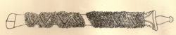 Chera king's Sword given to the Samoothiri of Kozhikode. Engraved from an original sketch.
