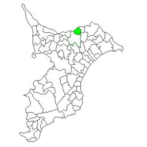 Shimofusa, Chiba - Image: Chiba Shimofusa town